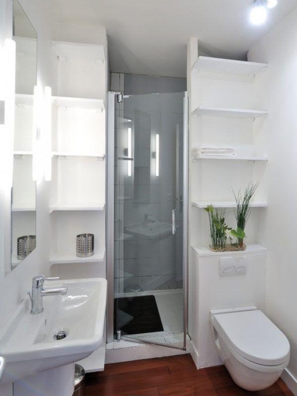 Tiny Bathroom Ideas Shower Space Saving