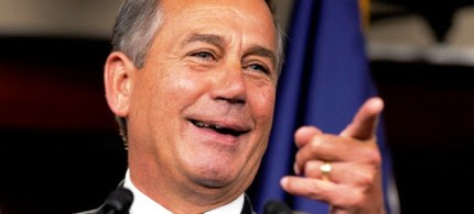 Speaker of the House John Boehner. (photo: AP/Susan Walsh)