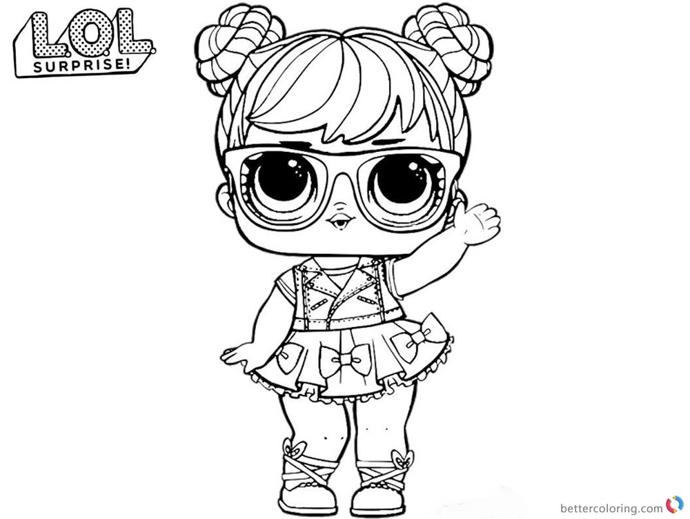 Coloring Pages Dolls Eskayalitim