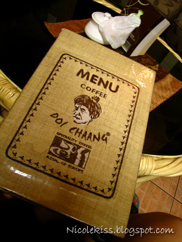 doi chaang menu