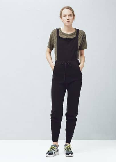 Cotton long jumpsuit | MANGO