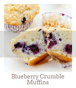"""""""Blueberry Crumble Muffins"""""""