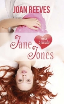 Couverture Jane Jones : Coeur à prendre