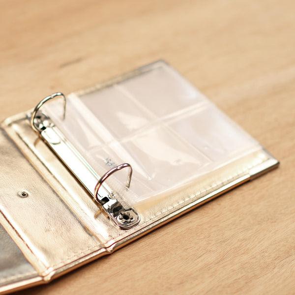 4x4 Gold Scrapbook Album Project Life Scrapbooking Becky Higgins