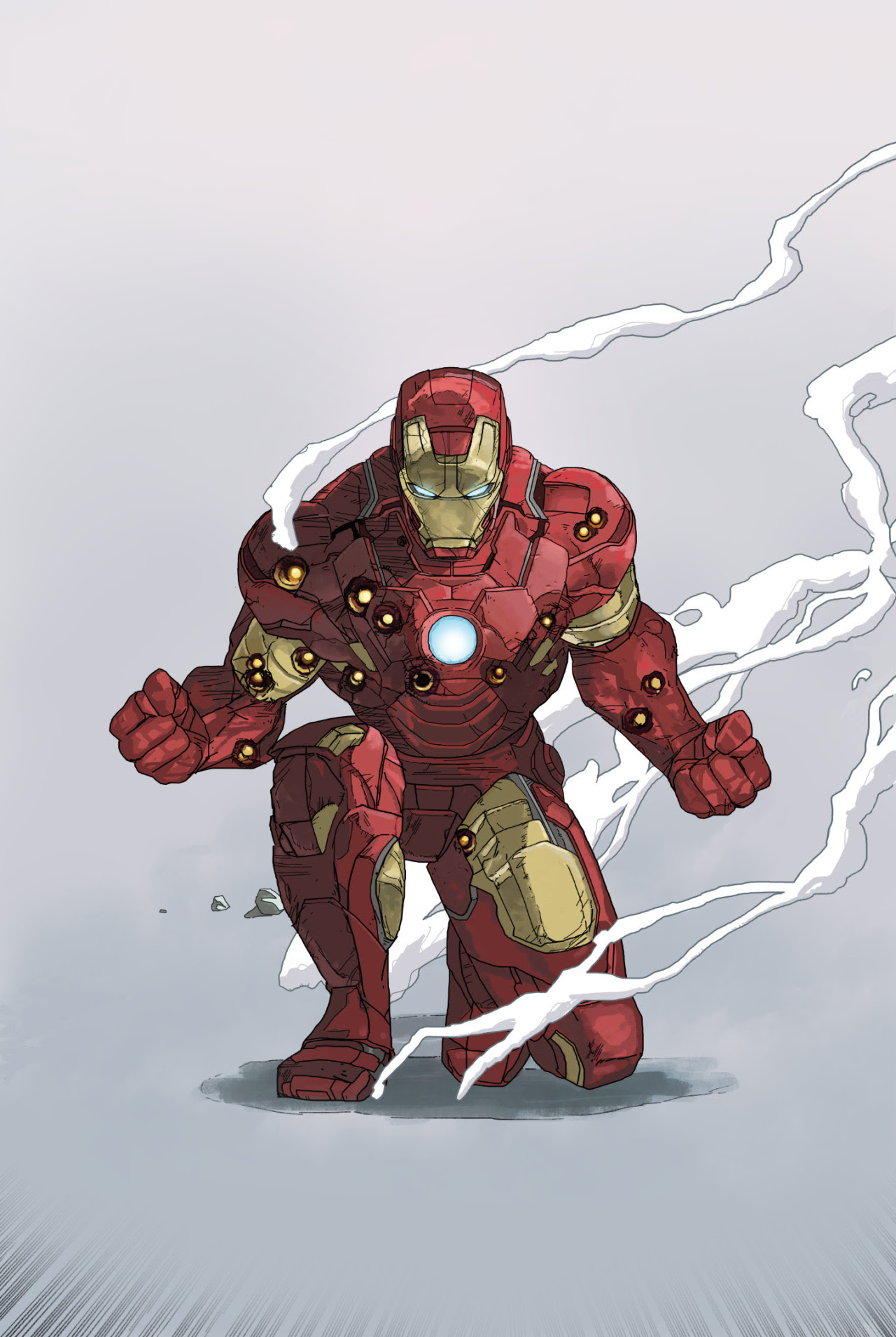 Iron Man by Dave Seguin