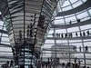 Norman Foster's addition to the Reichstag in Berlin - courtesy of Tolker Rover (original photo at http://flickr.com/photos/eob/47609285/)