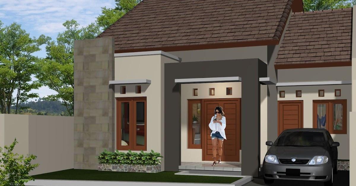 Model Rumah Minimalis Type 78  78 eksterior rumah minimalis batu alam 2019 dekhom