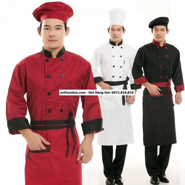 bán đồng phục đầu bếp tphcm