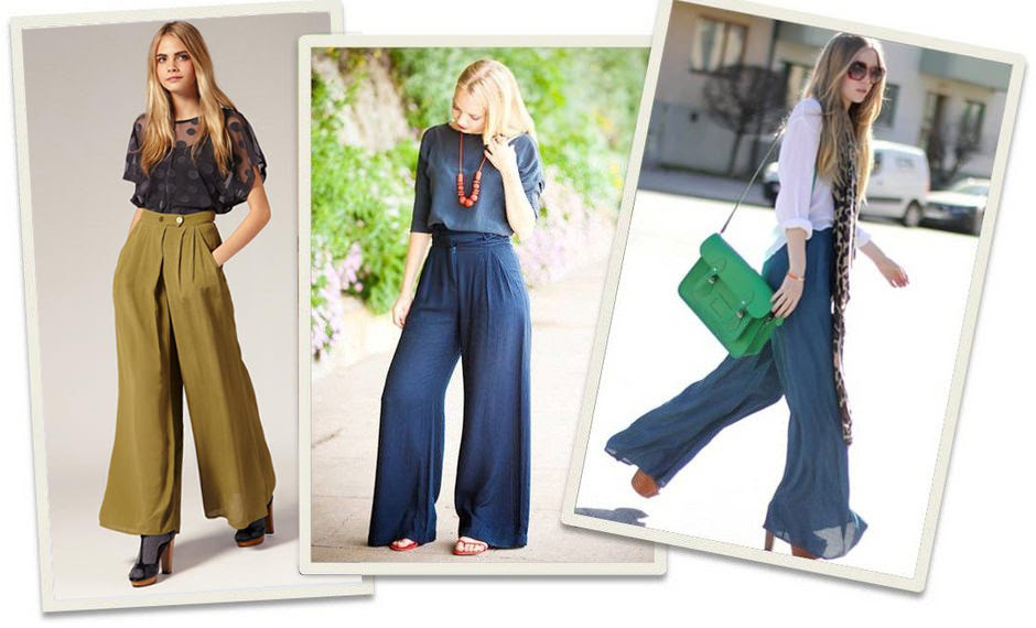 latest style trend – how to wear palazzo pants  touch18