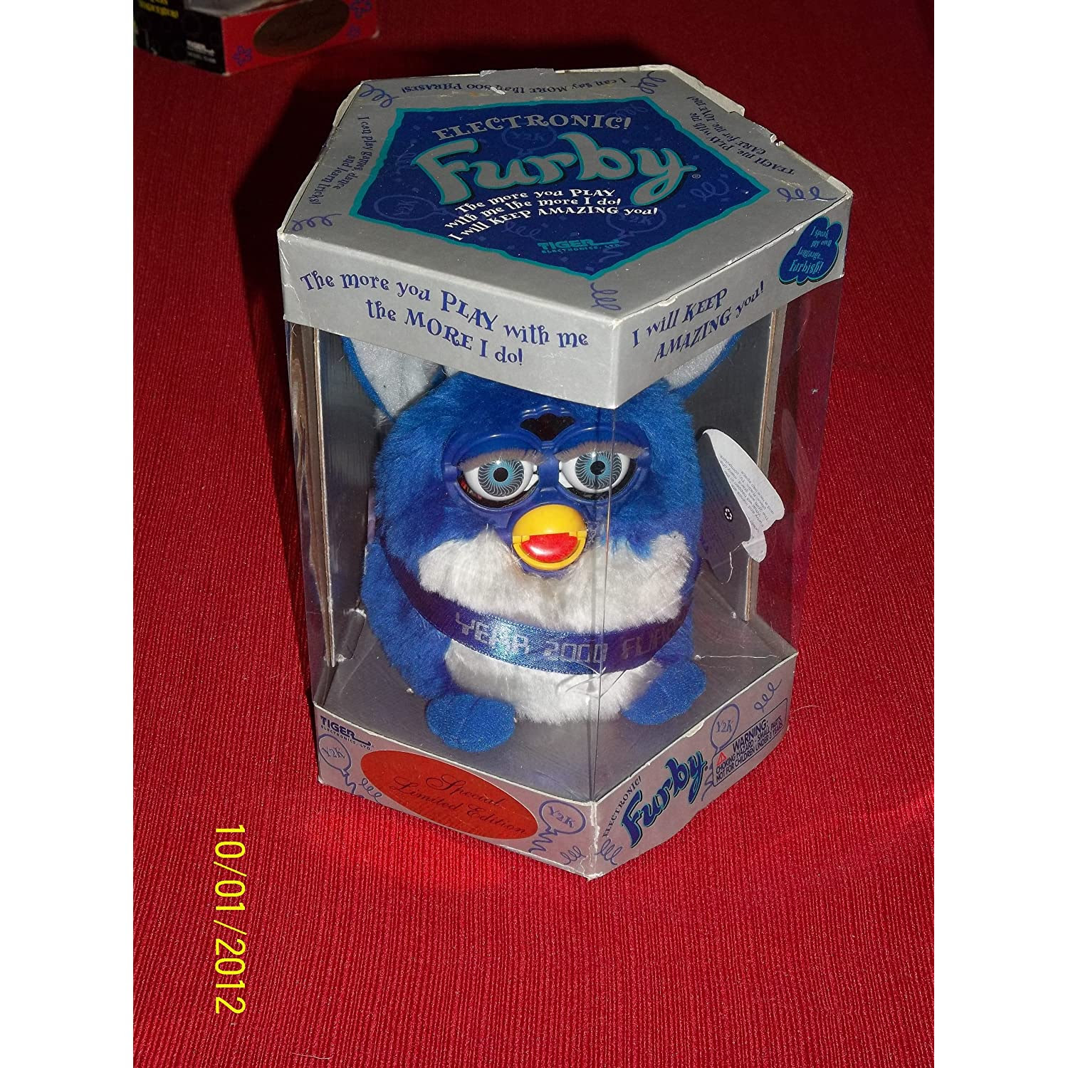 Special Limited Edition Millennium Furby