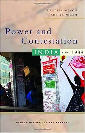 Power and contestation by Nivedita Menon and Aditya Nigam
