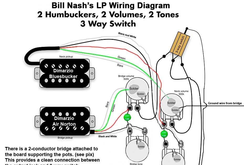 Dimarzio Humbucker Single Pickup Wiring Diagram Free