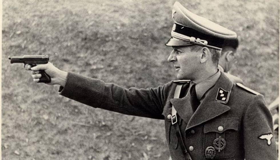 Oficial do SD na Ucrânia, em 1941