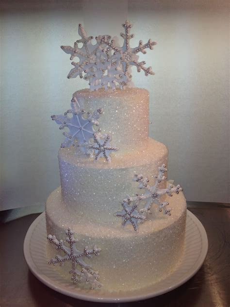 Snowflake Sweet 16 Cake   Themed Cakes in 2019   Snowflake
