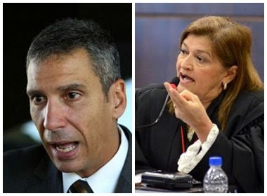 Promotor de Justiça diz que desembargadora tem cara de empregada