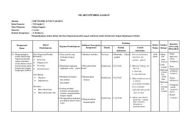 Contoh laporan PPL 2.