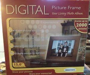 Pandigital Digital Photo Frame Snow Globe New In Box 51