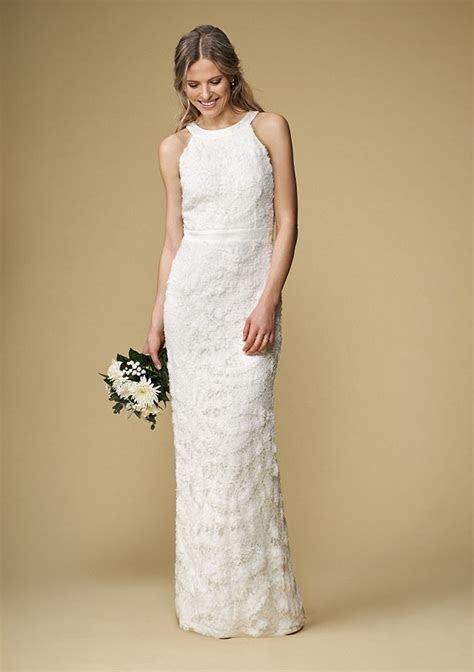 Affordable high street wedding dresses for older brides