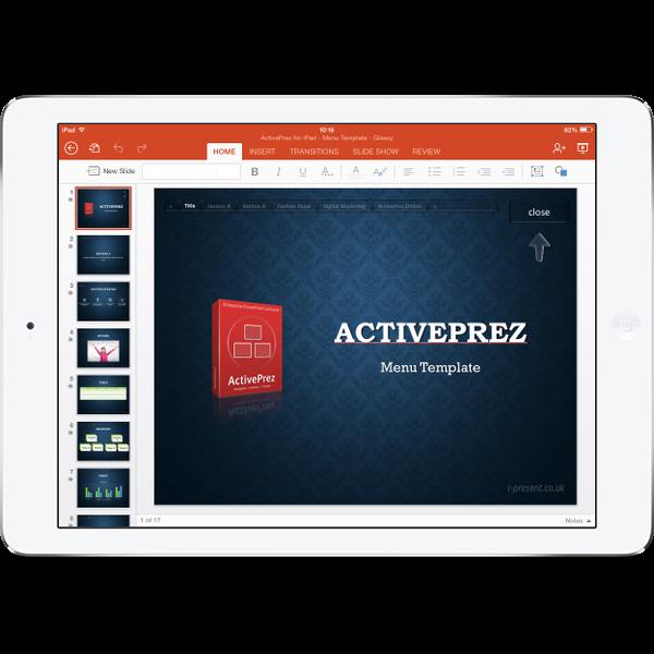 Ipad Powerpoint Activeprez Youpresent