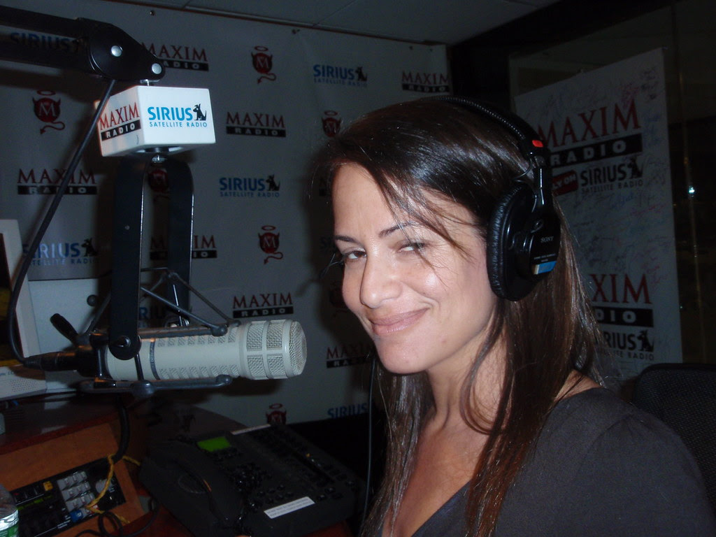 Anna David hosting Sex Files