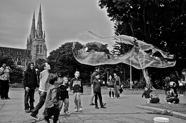 soap bubble man 4