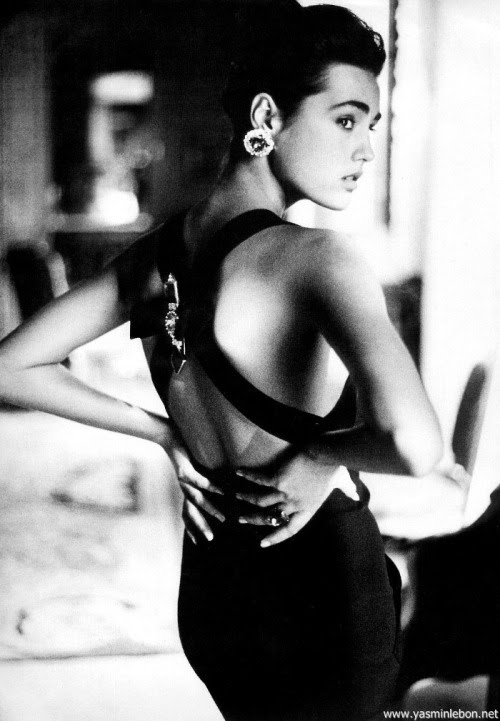 Karl Lagerfeld A/W 1985/'86Photographer: Arthur ElgortModel: Yasmin Le Bon