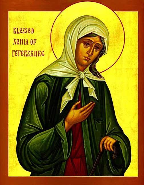 img ST. XENIA of St.Petersburg