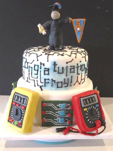 Frosted Insanity: Electrical Engineer Cake