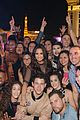 demi lovato gets support nina dobrev and glen powell at house party tour in vegas 03