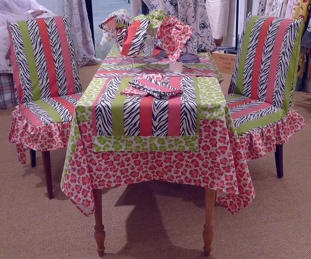 Simba Zebra table linens | Flickr - Photo Sharing!