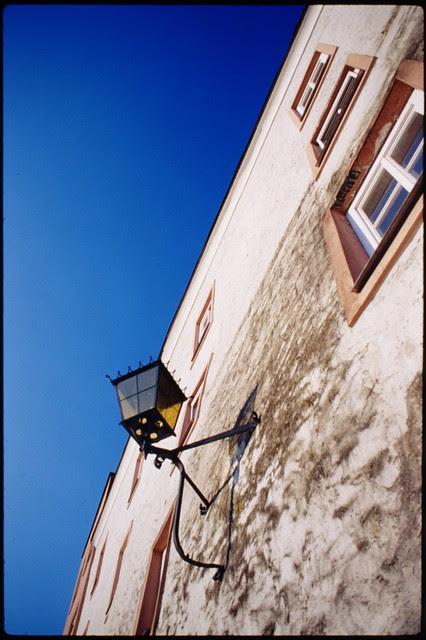 wide angle street lamp