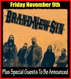Brand New Sin Plays L'Amour on November 9th