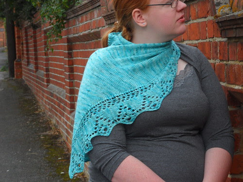 Skein Queen Delectable Shallow Water lace edging Knit Now Magazine December 2011 Practical Publishing