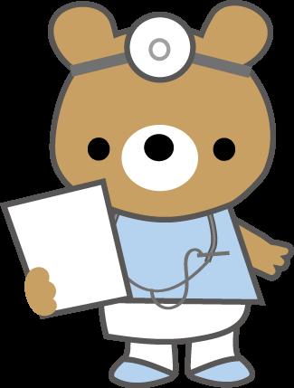 医療イラストかわいい看護師と医師の無料イラスト