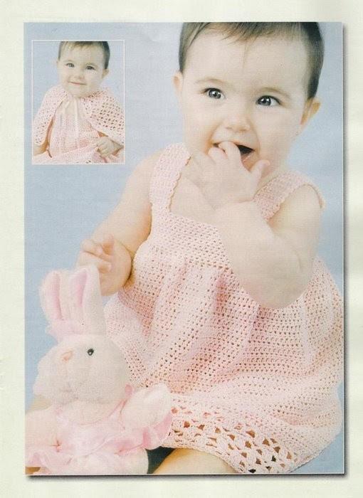 вязание спицами девочкам до 3 лет