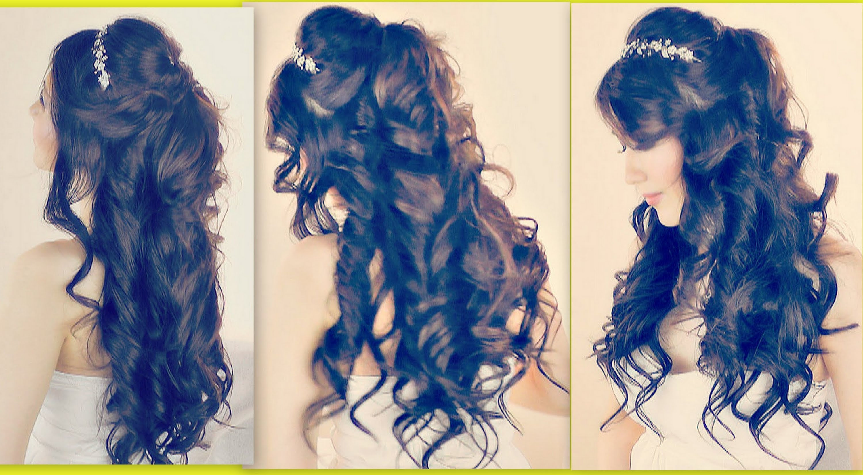 Hairstyles For Prom For Medium Length Hair Half Up HalfFuneral