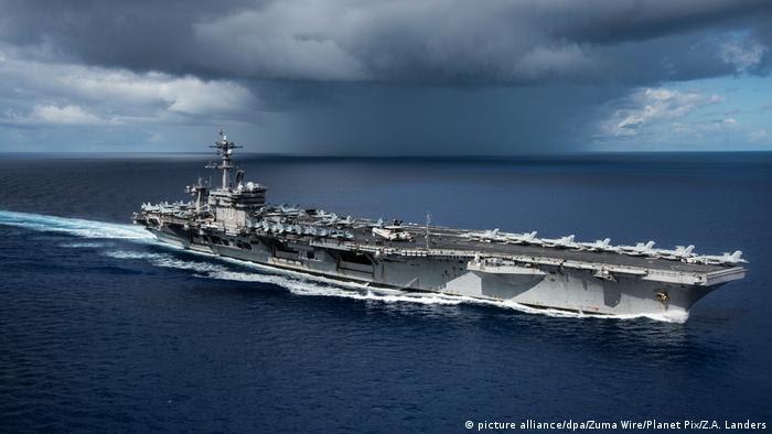 Flugzeugträger USS Carl Vinson (picture alliance/dpa/Zuma Wire/Planet Pix/Z.A. Landers)