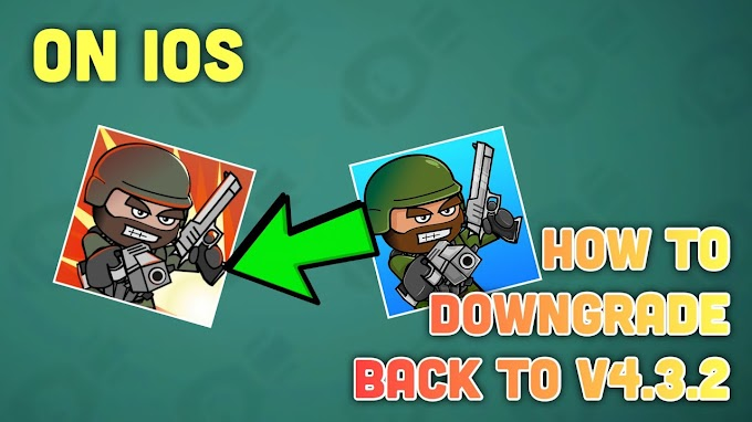 How to play mini militia old version in iOS Device