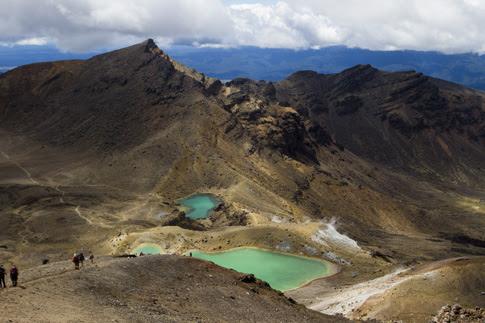 Emerald Lakes, Tongariro National Park, New Zealand