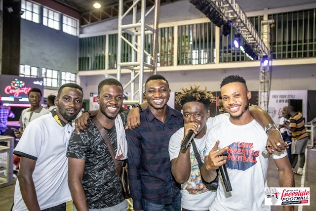 Poco Lee, Xtacy, Kemen and more light up 2019 Nigerian Freestyle Football Championship Lagos Auditions
