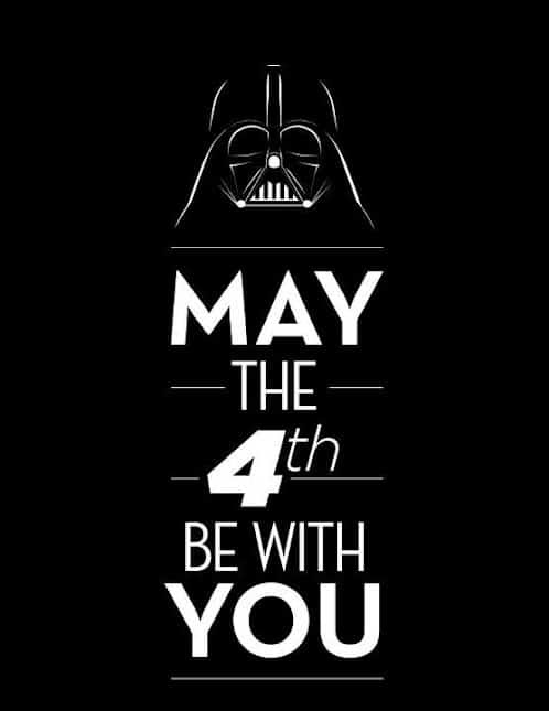 May the 4th be with you! ∴ Aardling