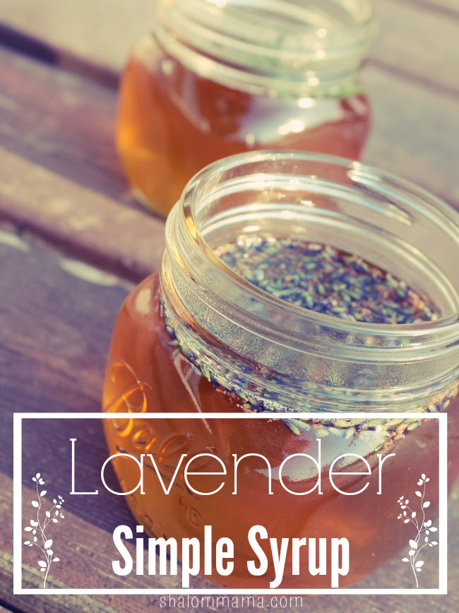 Homemade Lavender Simple Syrup - tiny apothecary