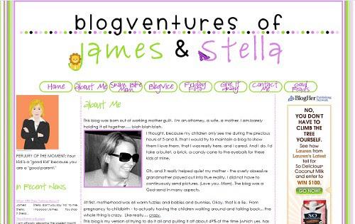 BlogVentures of James and Stella