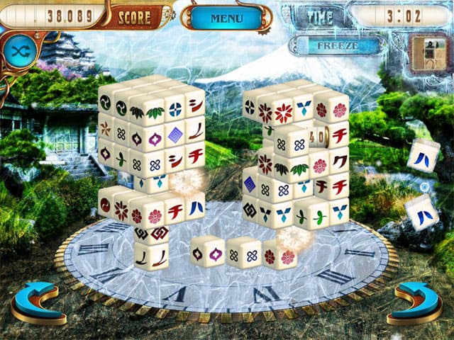 Mahjongg Dimensions Free PC Game Screenshot