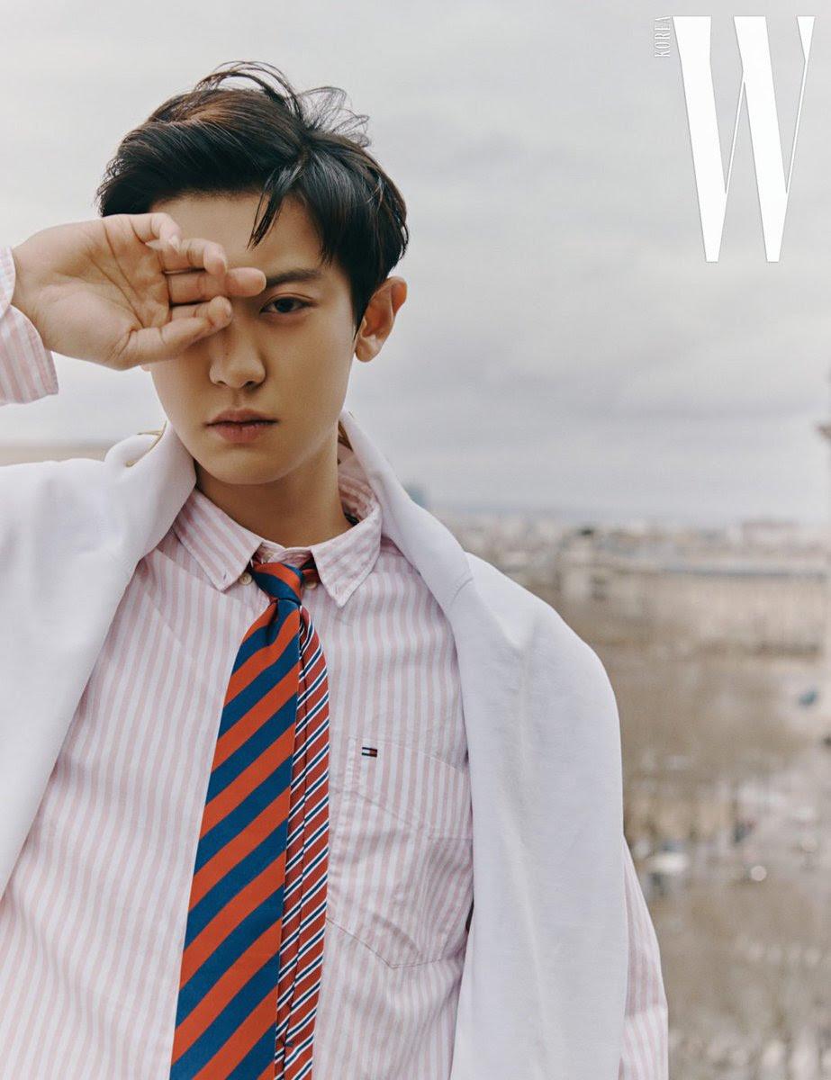 Chanyeol W Korea April 2019 Issue Exo Foto 42691652 Fanpop Page 41