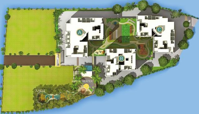 Layout Plan of Pate Developers' Kimaya 2 BHK Flats Suvarna Nagari opposite Chintamani Nagar Bibwewadi Pune
