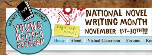 national novel writing month young writers program Have you ever wanted to do nanowrimo (national novel writing month) do you enjoy writing stories join us for story making fun this fall and work towards a personal writing goal.
