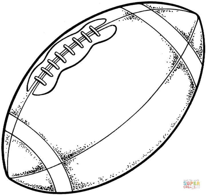 Dibujos De Futbol Americano Para Colorear Imagesacolorierwebsite