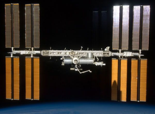 The International Space Station...as of July 28, 2009.