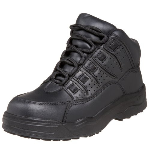 WORX by Red Wing Shoes Men's 6552 Non-Metalic Safety Toe Athletic Mid,Black,7.5 W